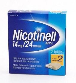 Bild på Nicotinell, depotplåster 14 mg/24 timmar 7 st