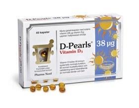 Bild på D-Pearls 38 µg 40 kapslar