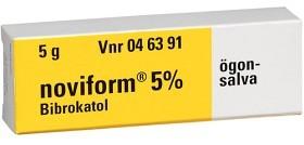 Bild på Noviform ögonsalva 5% 5 g