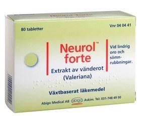 Bild på Neurol forte, dragerad tablett 80 st