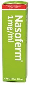 Bild på Nasoferm, nässpray, lösning 1 mg/ml 10 ml