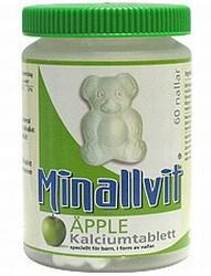 Bild på Minallvit Kalcium Äpple 60 st