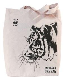 Bild på WWF Tygkasse