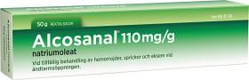 Bild på Alcosanal, rektalsalva 110 mg/g 50 g