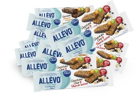 Bild på Allévo Lactose Free Chocolate Chip & Peanut Butter Bar 20 st