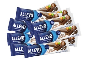 Bild på Allévo Low Calorie Bar Coffee Chocolate 20 st
