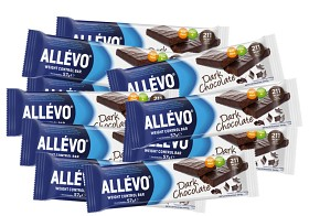 Bild på Allévo Low Calorie Bar Dark Chocolate 20 st