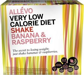 Bild på Allévo Shake Banana & Raspberry 24 portioner