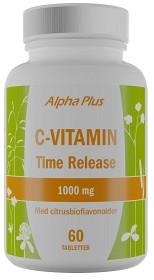 Bild på Alpha Plus C-vitamin 1000 mg 60 tabletter