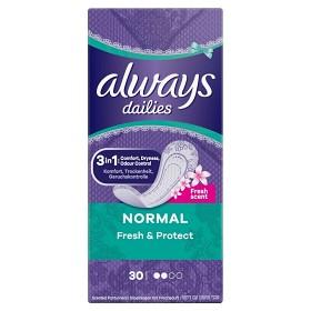 Bild på Always Dailies Fresh Scent Normal 30 st