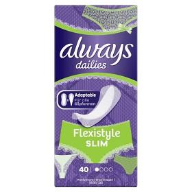 Bild på Always Dailies Flexistyle Slim 40 st doftfri