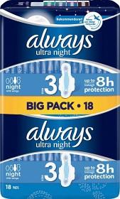 Bild på Always Ultra Night 18 st