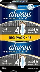 Bild på Always Ultra Secure Night 16 st