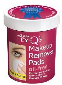 Bild på Andrea Eye Q's Remover Pads Oil Free 65 st