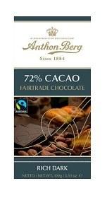 Bild på Anthon Berg 72% Cacao Fairtrade 100 g