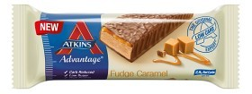 Bild på Atkins Advantage Fudge Caramel Bar 60 g