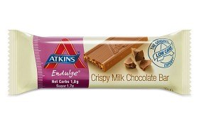 Bild på Atkins Endulge Crispy Milk Chocolate Bar 30 g