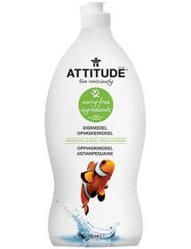 Bild på Attitude Diskmedel Green Apple & Basil 700 ml