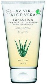 Bild på Avivir Aloe Vera Sun Lotion SPF 15, 150 ml