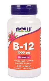 Bild på NOW B12 250 tabletter