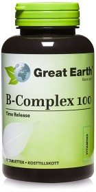 Bild på Great Earth B-Complex 100, 90 tabletter
