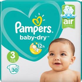 Bild på Pampers Baby-Dry S3 6-10 kg 30 st