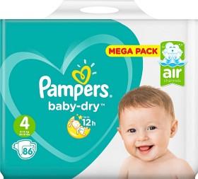 Bild på Pampers Baby-Dry S4 9-14kg 86 st