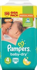 Bild på Pampers Baby-Dry S4 8-16 kg 120 st