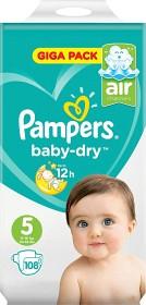 Bild på Pampers Baby-Dry S5 11-16 kg 108 st