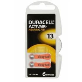Bild på Batteri Duracell Activair 13, 6 st