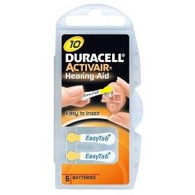 Bild på Batteri Duracell Activair 10, 6 st