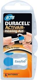 Bild på Batteri Duracell Activair 675, 6 st