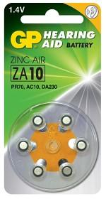 Bild på Batteri Hörapparat zink luft  ZA10 1,44V 6 st