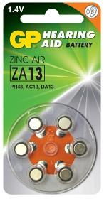 Bild på Batteri Hörapparat zink luft ZA13 1,44V 6 st