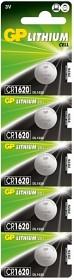 Bild på Batteri Lithium CR1620, 5 st