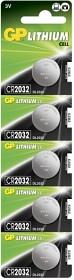 Bild på Batteri Lithium CR2032, 5 st