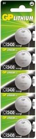 Bild på Batteri Lithium CR2430, 5 st