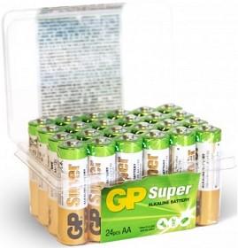 Bild på Batteri Super Alkaline AA, 15A/LR06, 24 st