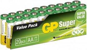 Bild på Batteri Super Alkaline AA, 20 st