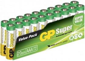 Bild på Batteri Super Alkaline AAA, 20 st