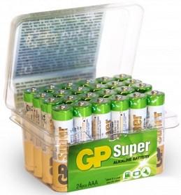 Bild på Batteri Super Alkaline AAA, 24A/LR03, 24 st