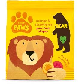 Bild på Bear Safari Paws Apelsin & Jordgubb 20 g