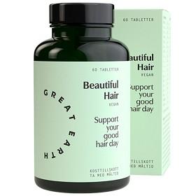 Bild på Great Earth Beautiful Hair 60 tabletter