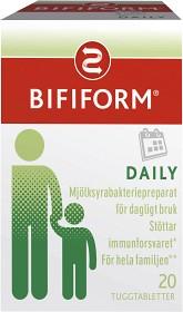 Bild på Bifiform Daily 20 tuggtabletter