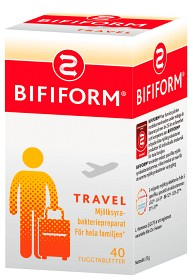 Bild på Bifiform Travel 40 tabletter