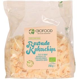 Bild på Biofood Kokosskivor rostade 250 g