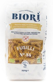 Bild på Biori Glutenfri Multikornpasta Fusilli 250 g