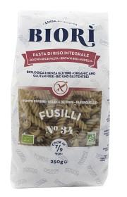 Bild på Biori Glutenfri Rårispasta Fusilli 250 g
