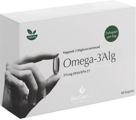 Bild på BioSalma Pharmacy Omega-3 av Alg 60 kapslar 375 mg EPA/DHA