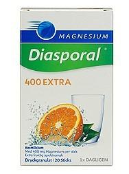 Bild på Magnesium Diasporal 400 Extra 20 sticks